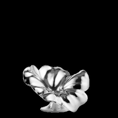 De Vecchi Silver Flor Small Candlestick