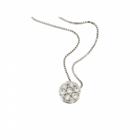 COLLANA FLOWERS diamanti naturali