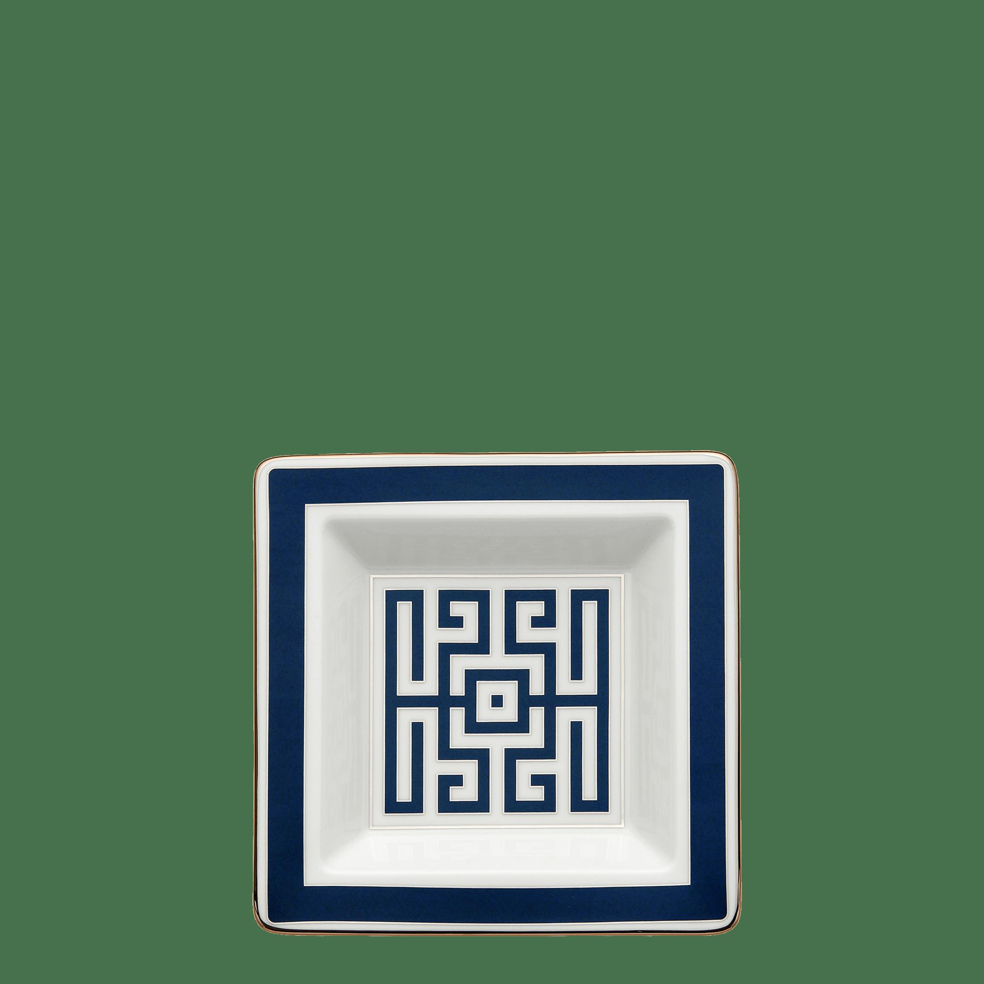 Richard Ginori Svuotatasche Labirinto Zaffiro