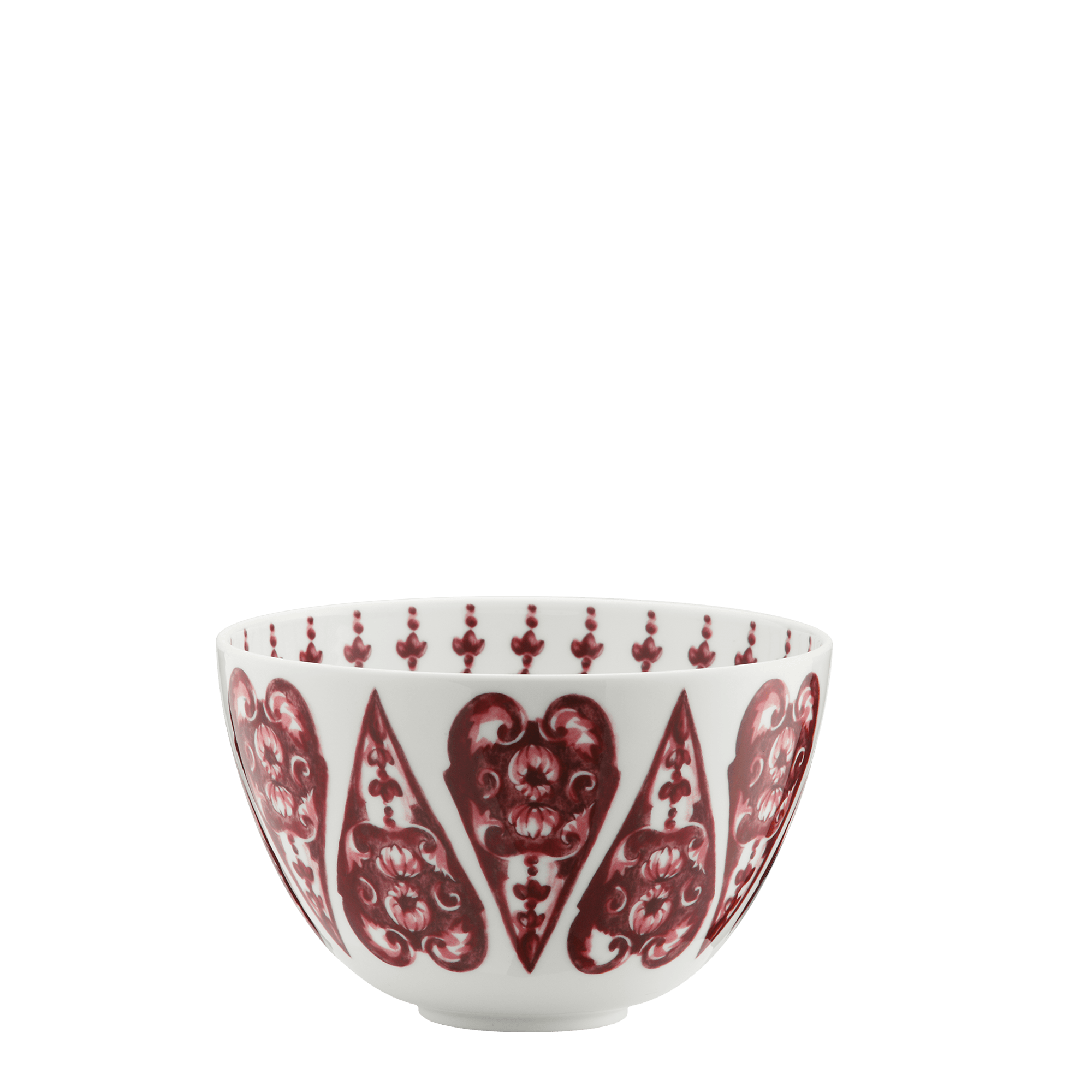 Richard Ginori Coppa Babele Rosso