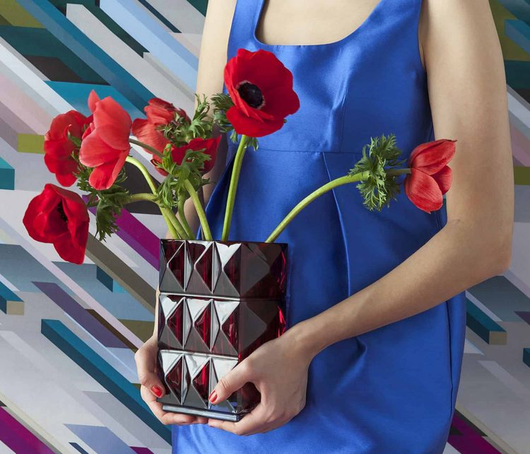 Louxor Vaso Rosso Baccarat