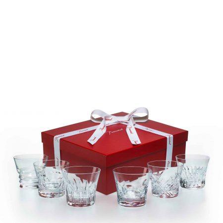 Set da 6 bicchieri in Red Box Everyday Baccarat