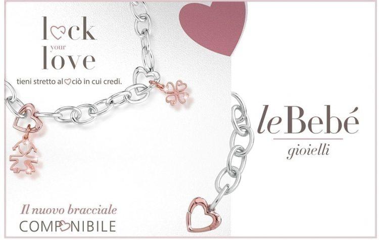 Charm Lock Your Love bimbo Le Bebè