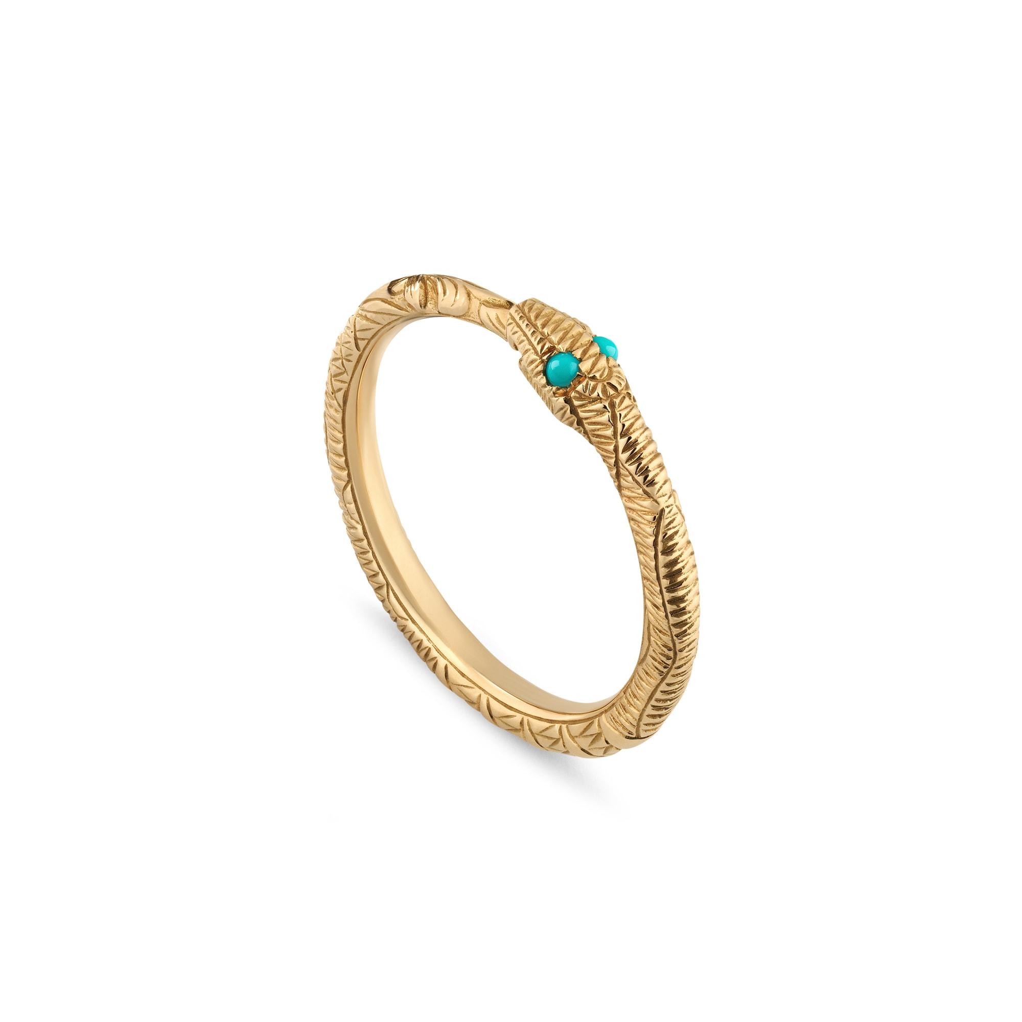 Anello GUCCI Ouroboros in oro