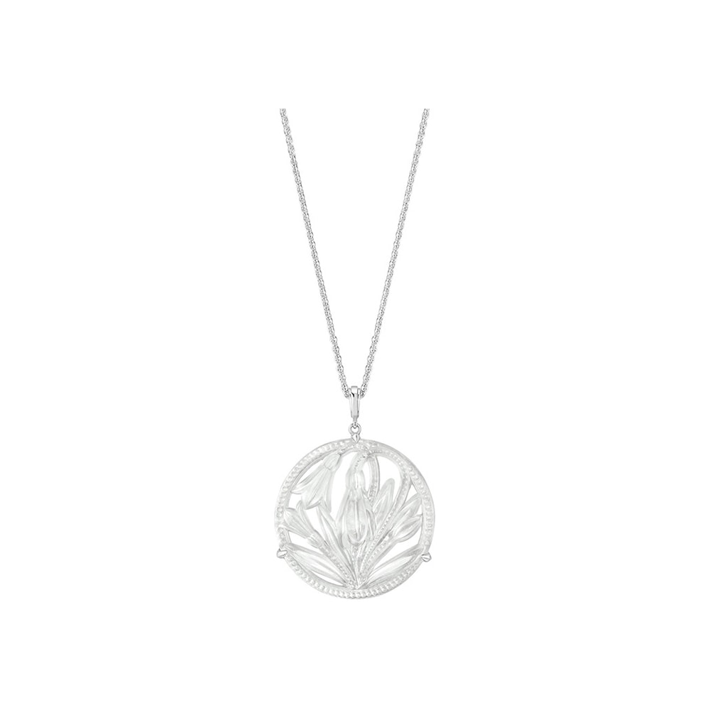 Fleur De Neige Ciondolo Lalique