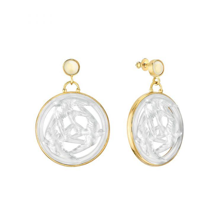 Orecchini Trois Hirondelles Lalique