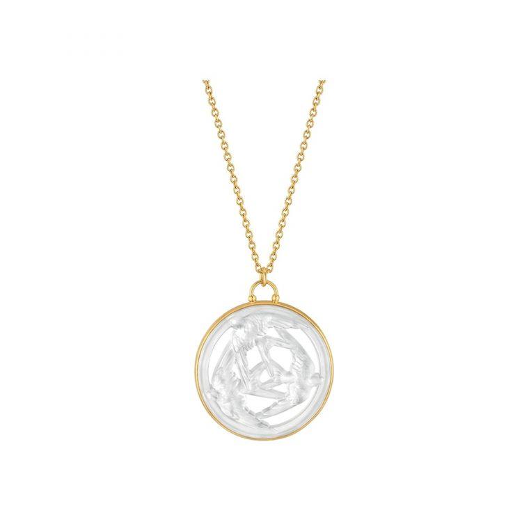 Ciondolo Trois Hirondelles Lalique