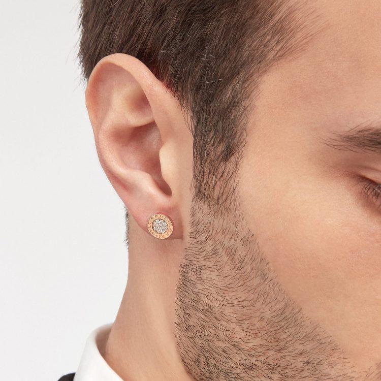 354731 bvlgari bvlgari earring single monorechino uomo sconto discount
