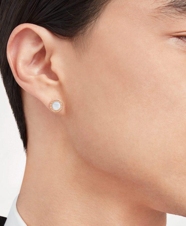 354732 single earring mono orecchino bvlgari bvlgari sconto discount madreperla