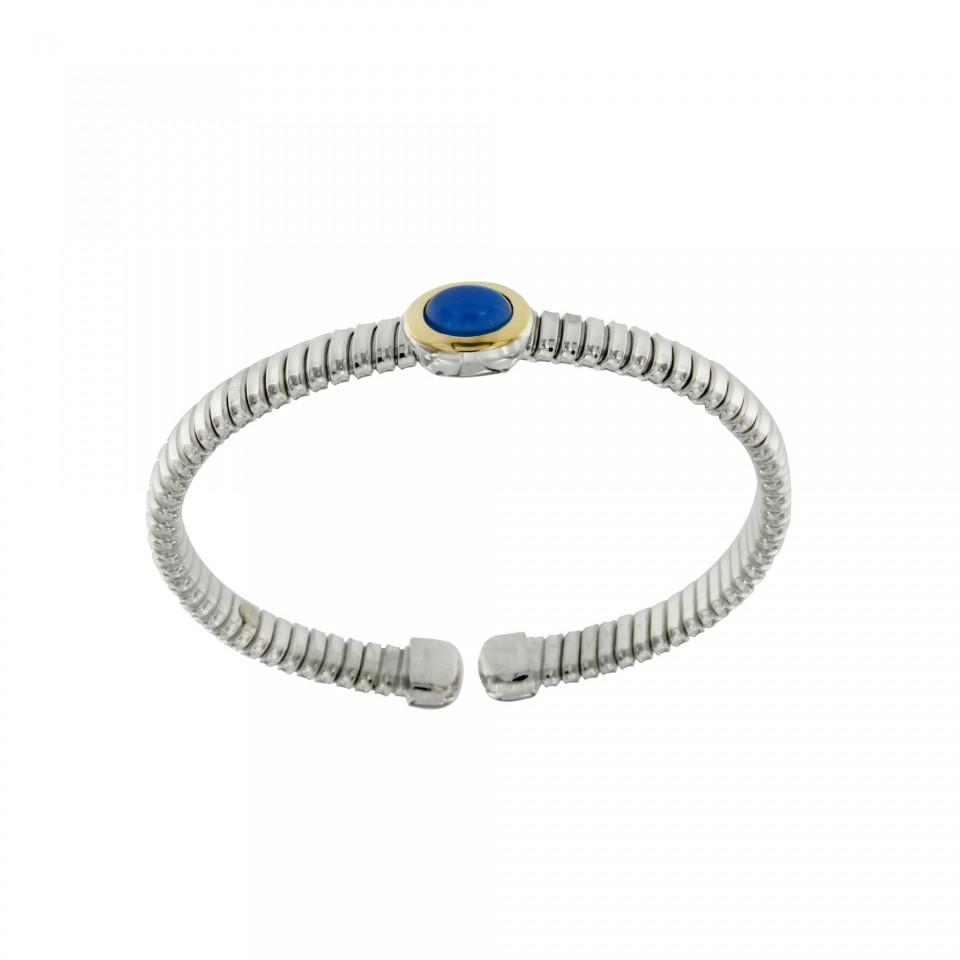 NUOVA bracciale-tubogas-a-molla-in-argento-925-con-testina-in-oro-18ct-e-agata-blu-BRT026AB-960x960.jpg
