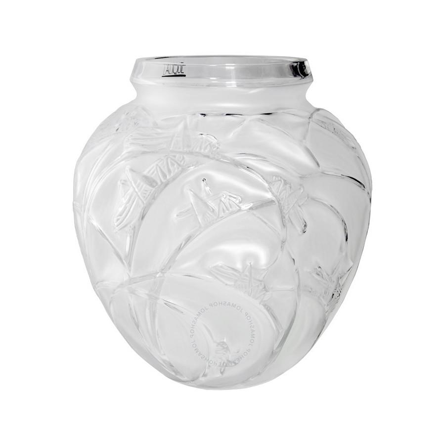 Lalique Vaso Sauterelles Cavallette