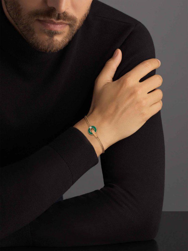 BVLGARI BVLGARI Bracelet malachite