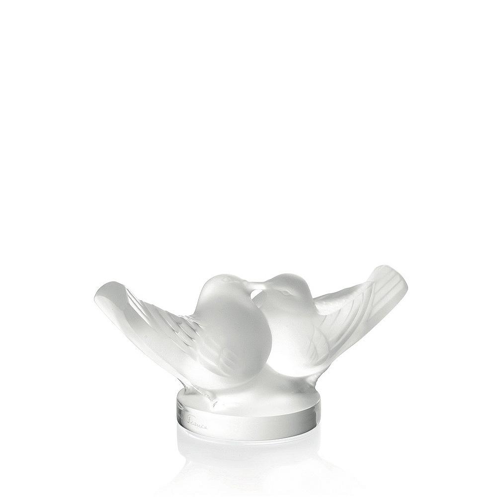 due uccellini innamorati scultura Laique