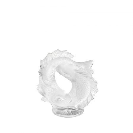 due pesci scultura lalique