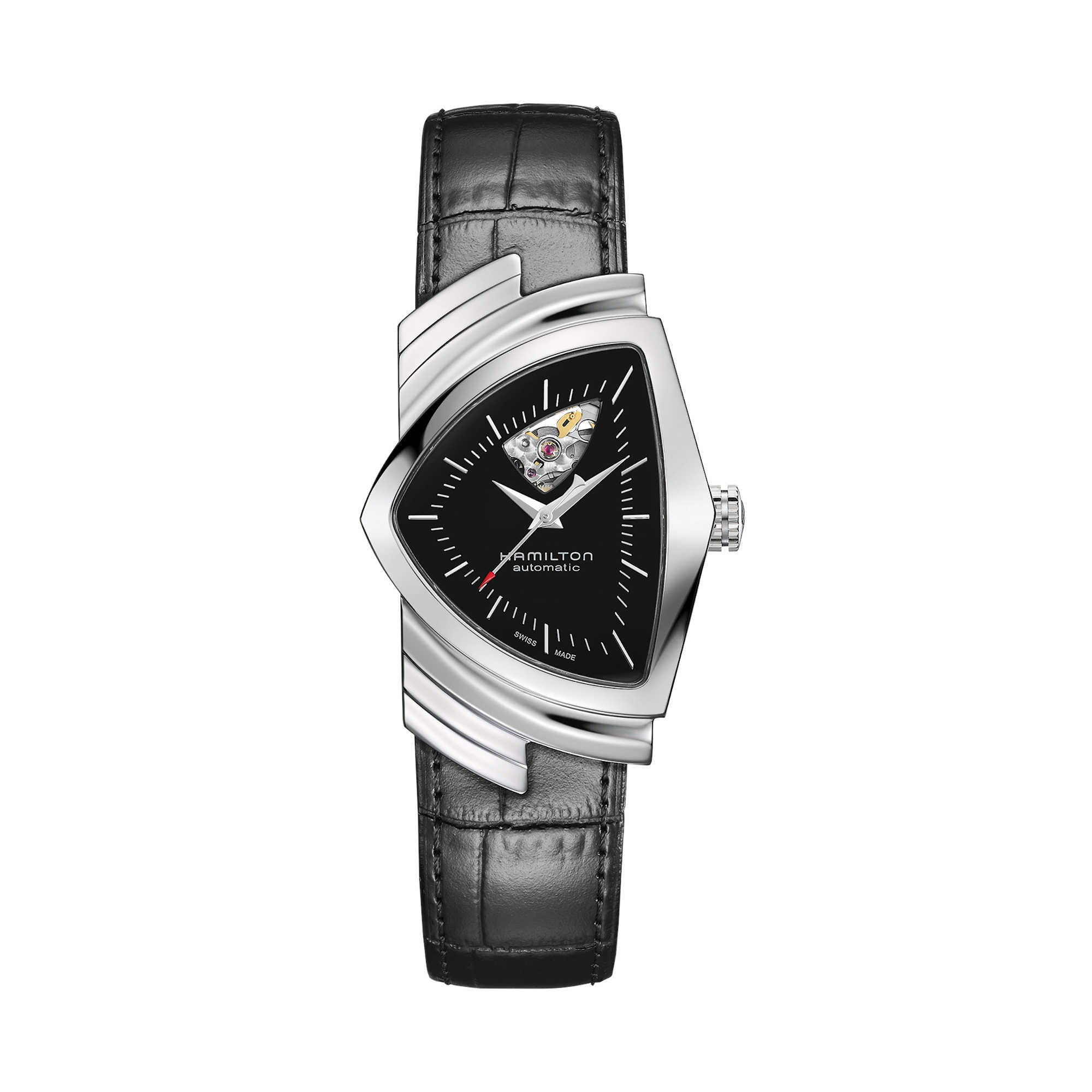 Orologio Hamilton Ventura Open Heart Auto Carica automatica | 34,7mm x 53,5mm | H24515732