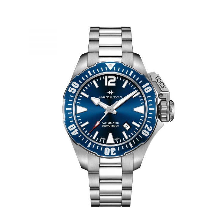 orologio hamilton Khaki Navy Frogman Auto - H77705145
