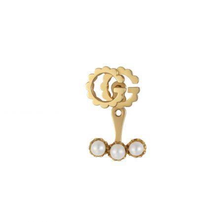 OR481693 gucci mono orecchino single earring pearl sconto discount