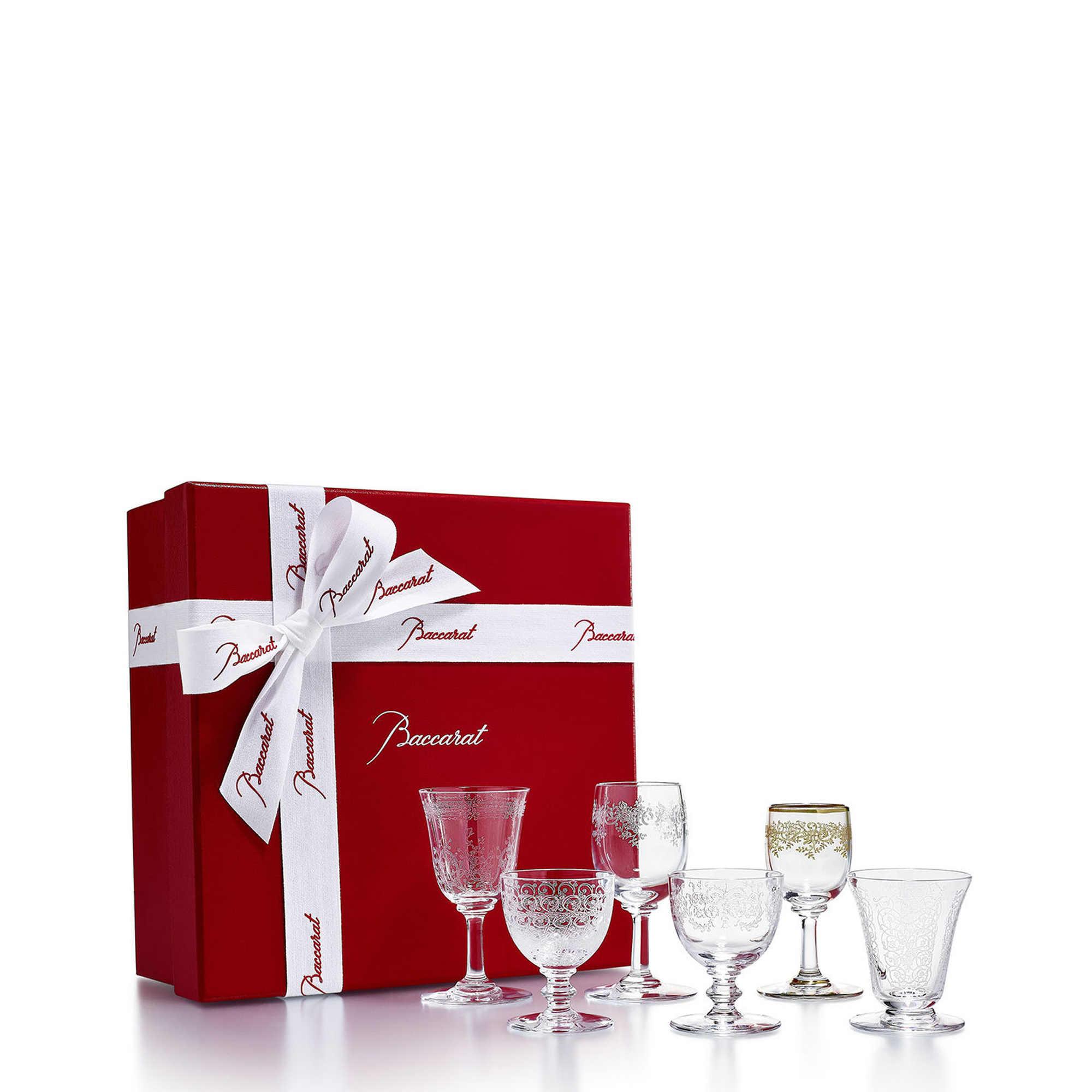 Baccarat Coffret bicchieri Bijoux Set da 6 glasses
