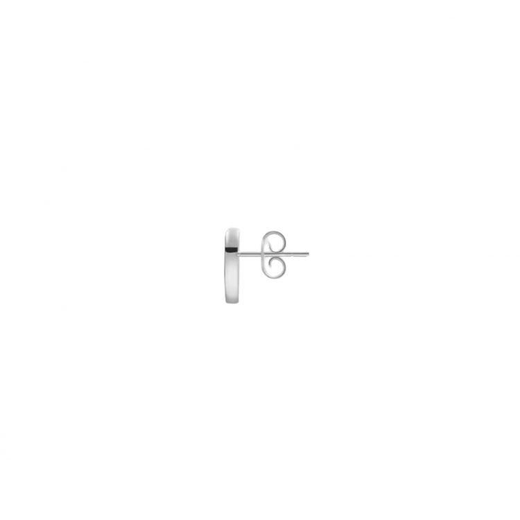Orecchini a cuore Gucci trademark heart silver sconto discount