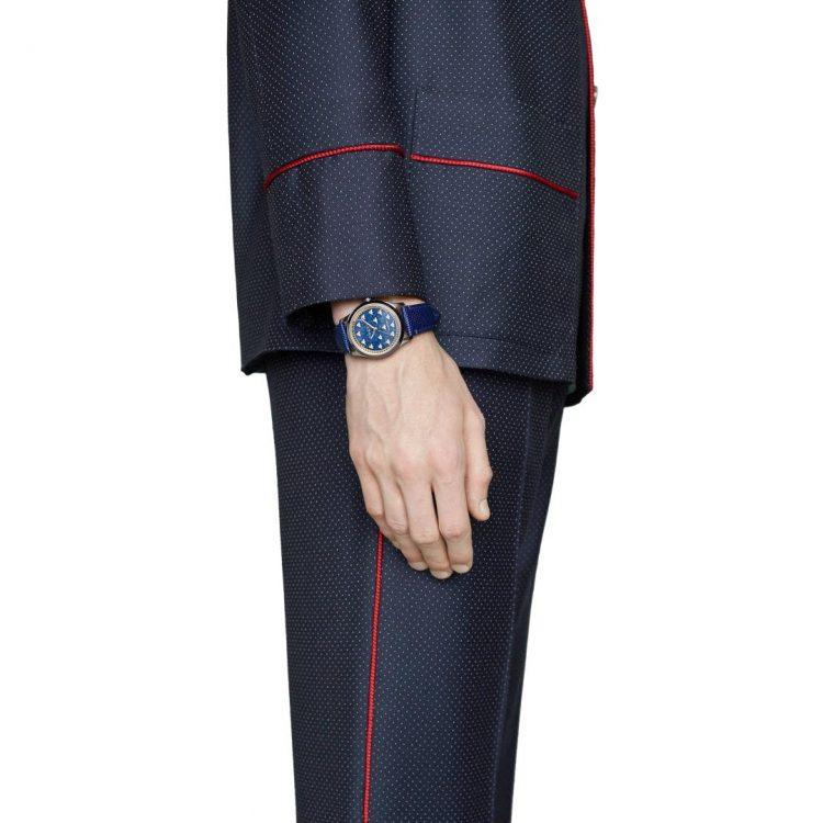 Gucci Orologio G-Timeless, 38 mm lapislazzuli watch