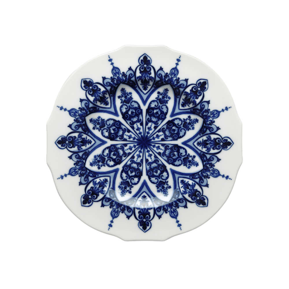 165RG00_FPT110010280G01713600 piatto piano babele blu ginori