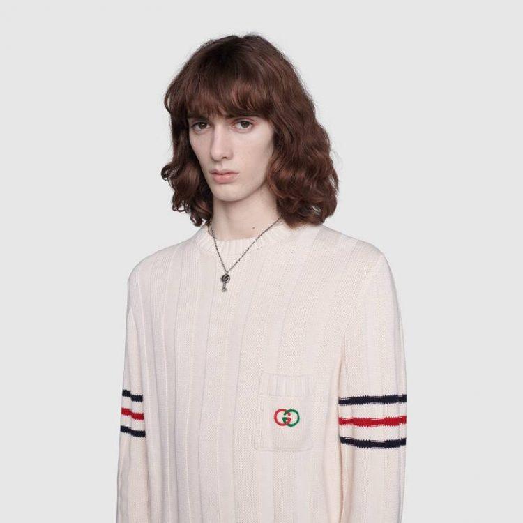 cl627757 collana Gucci con Chiave argento key necklace sconto discount