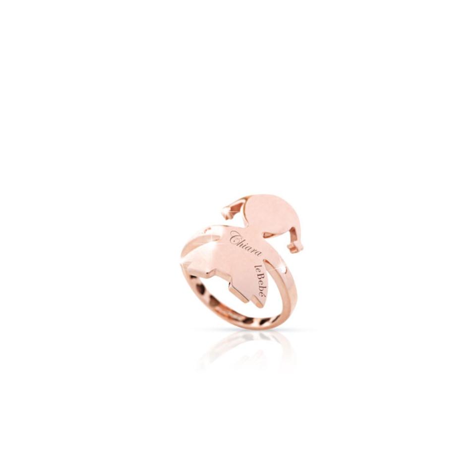 LBB-124-N anello le bebè abbracci femminuccia ring