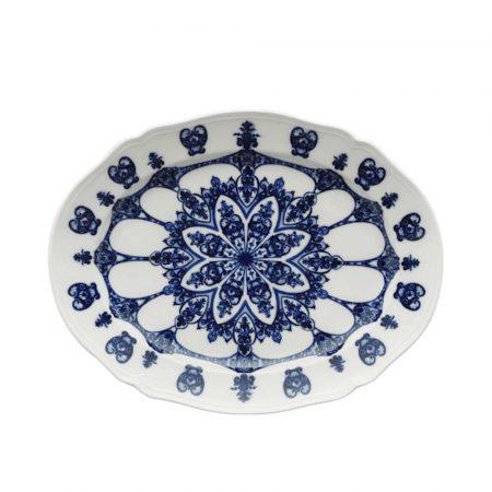 piatto ovale babele ginori blu 003RG00_FVS130010385G01713600