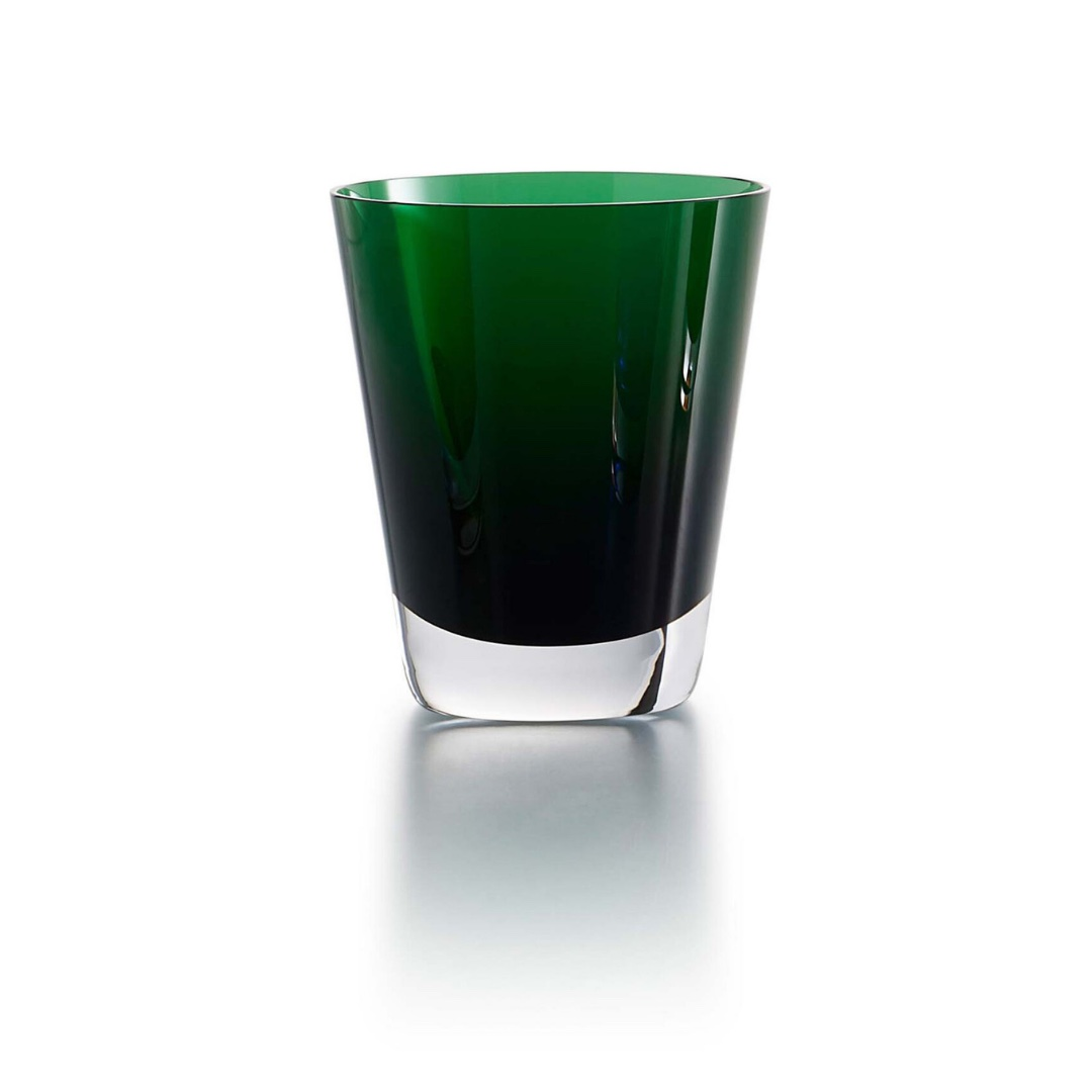 2103592 tumbler-mosaique-baccarat bicchiere verde green discount sconto
