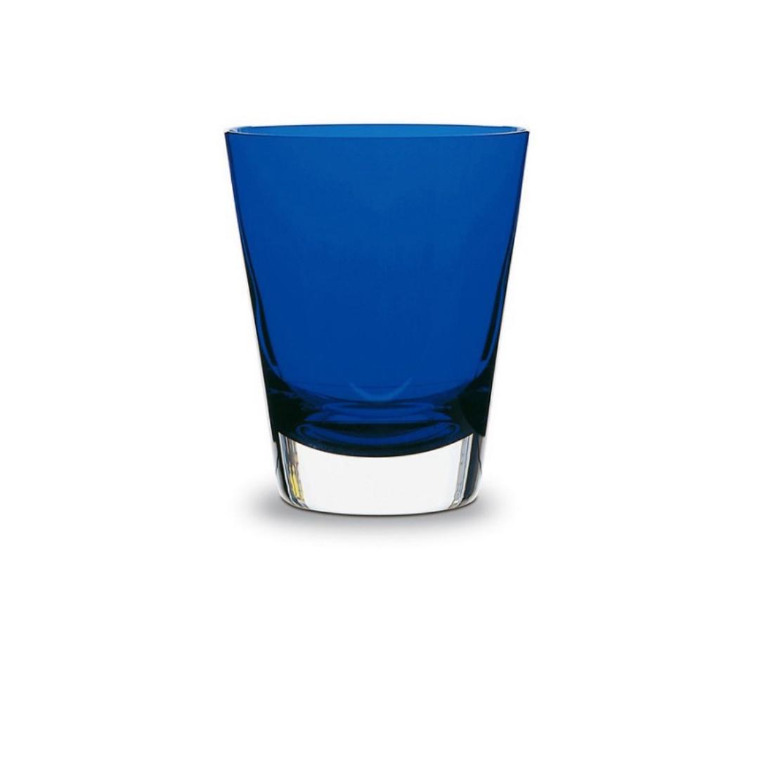 2103907 glass discount sconto Baccarat Mosaique bicchiere tumbler blu