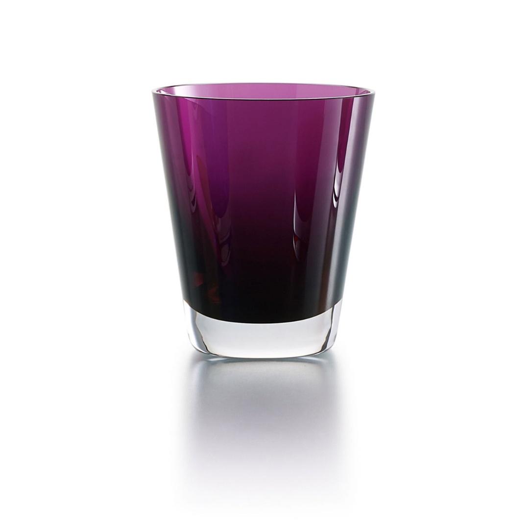 Baccarat Mosaique bicchiere tumbler viola glass discount sconto