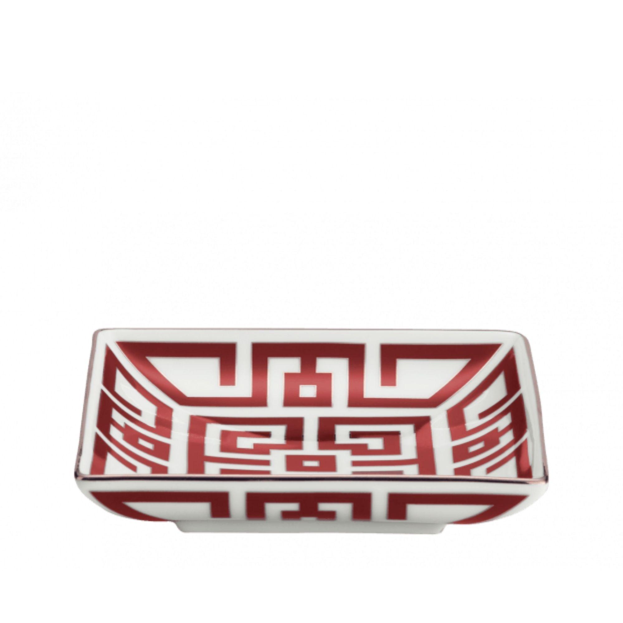 COPPA LABIRINTO SCARLATTO richard ginori tray red scarlet sconto discount 172RG01 FCP2200113XG00125300