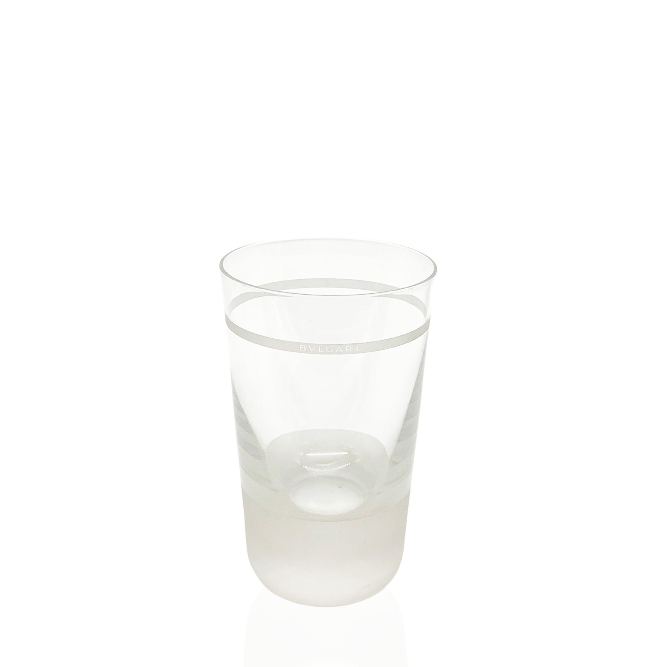 BVLGARI GLASS SCONTO DISCOUNT BICCHIERE Whisky