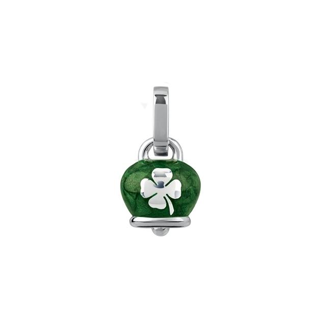 Chantecler Ciondolo campanella micro verde quadrifoglio