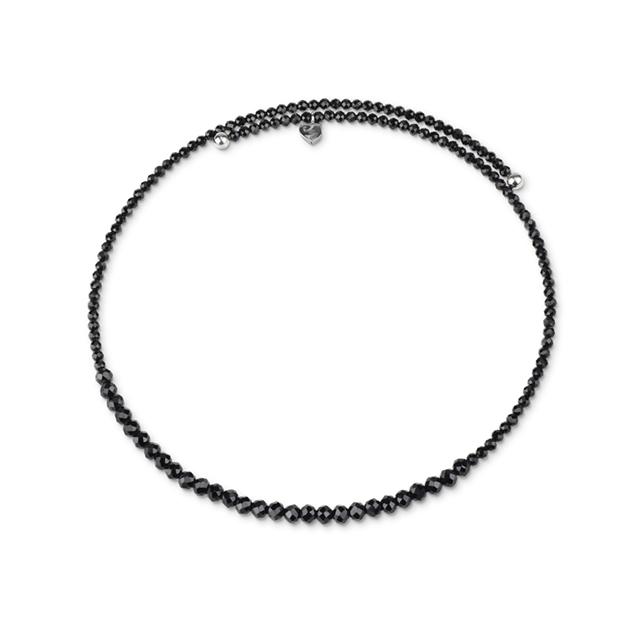discount sconto Chocker in spinello nero e argento collana chantecler necklace silver spinel