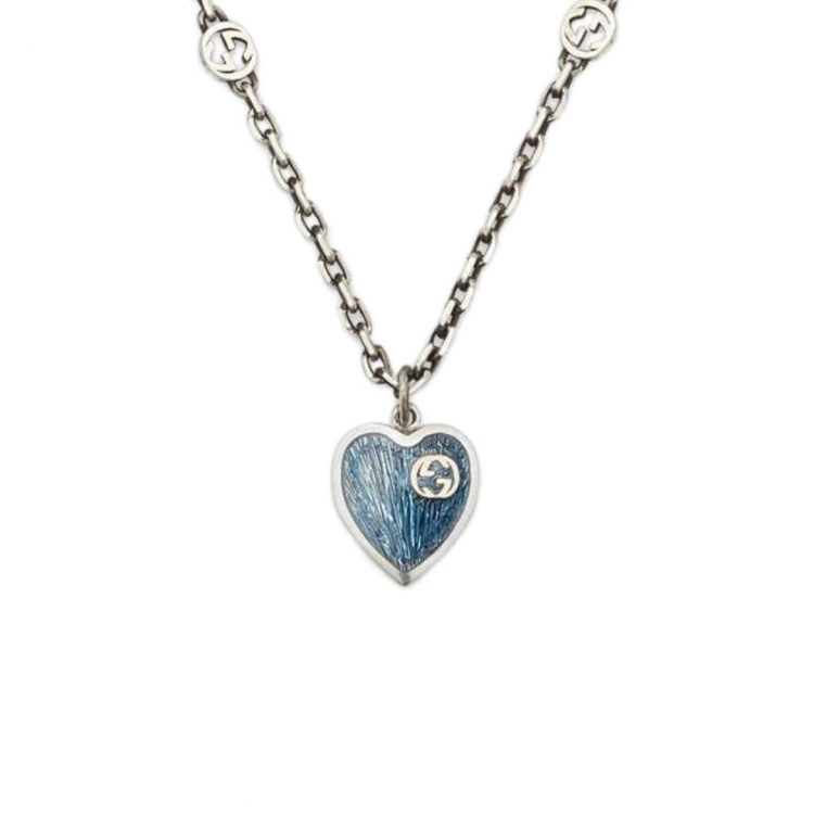 645545_J89B4_1192_001_100_0000_Light-Collana-con-cuore-in-smalto-GG neckalece enamel heart GUCCI