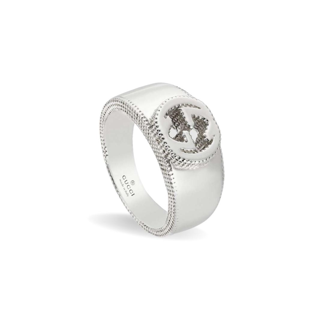 discount sconto 479228_J8400_8106_001_100_0000_Light-Anello-dettaglio-GG-in-argento
