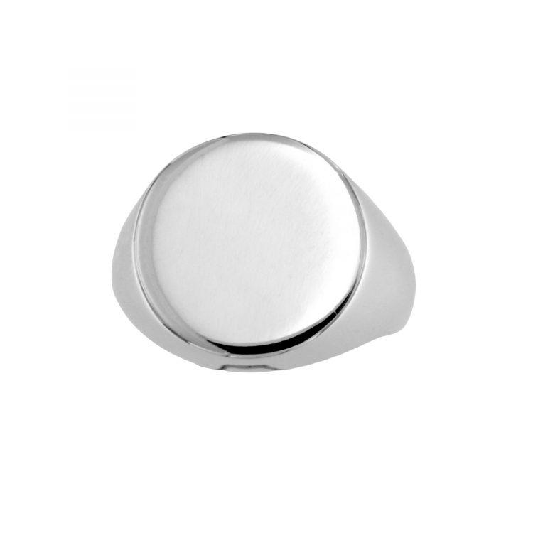 OTT_TON_OB anello mignolo oro bianco timbro pinki ring chevalier stamp sconto discount