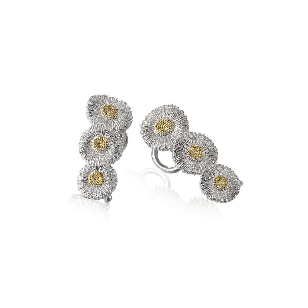 Orecchini Daisy Buccellati argento silver earrings sconto discount EAR013864
