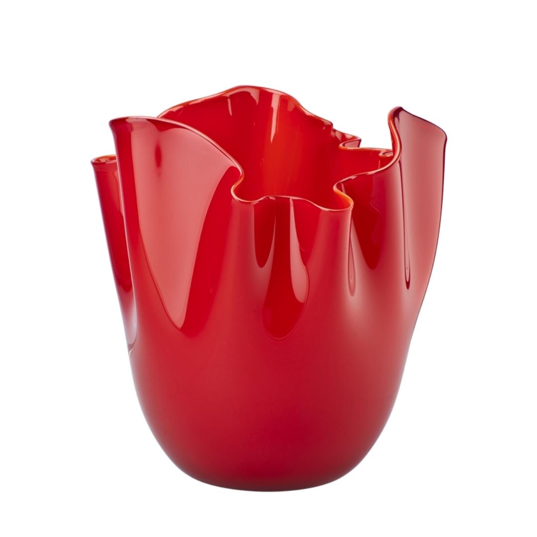 Vaso venini fazzoletto 700.04 vase sconto discount