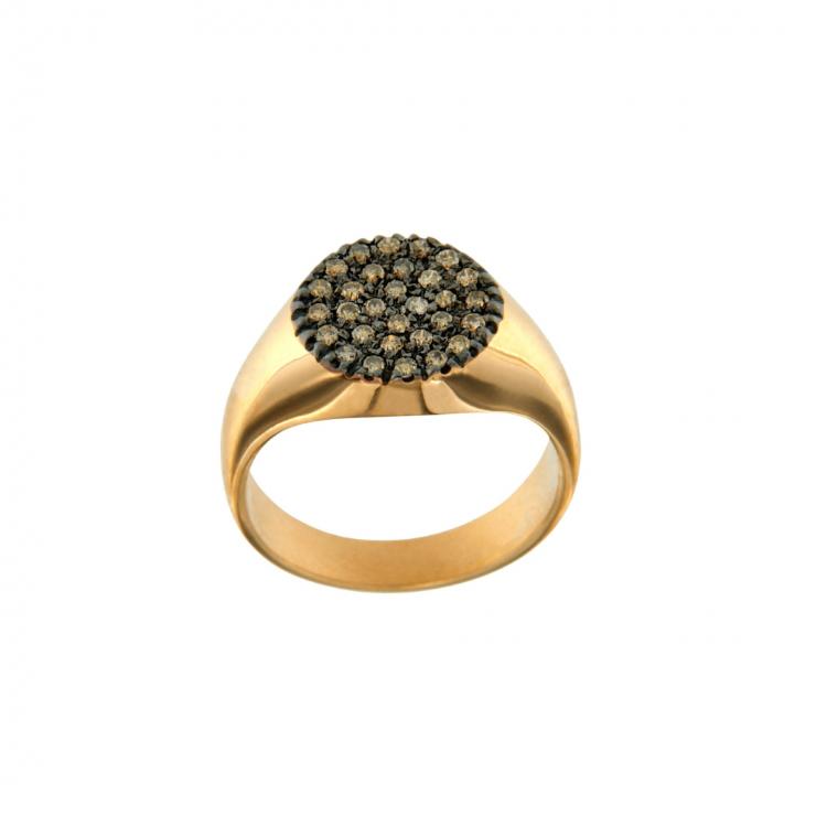 15957A-anello-mignolo-oro-rosa-diamanti-brown