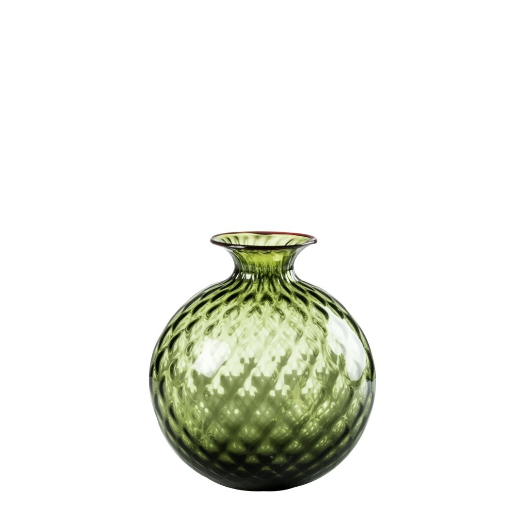 monofiori balloton vaso verde 100.16 venini vase green discount sconto
