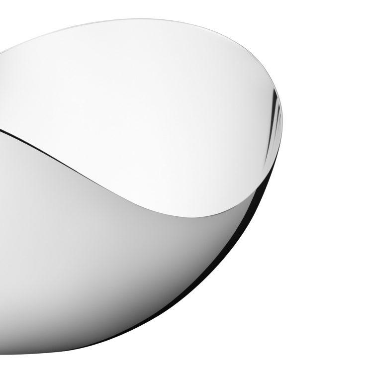 Ciotola a specchio alta BLOOM Grande BLOOM Tall Mirror Bowl Large sconto discount