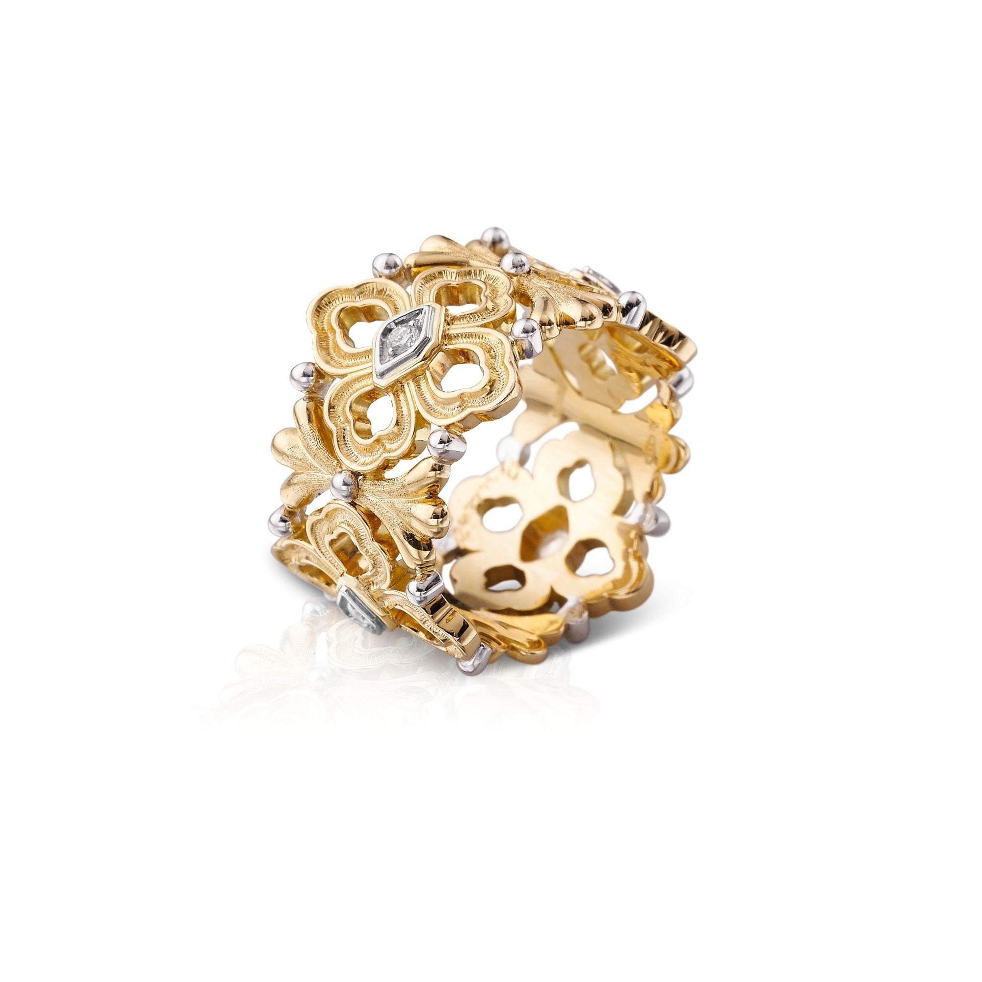 JAUETE009561 anelloopera buccellati ring sconto discount