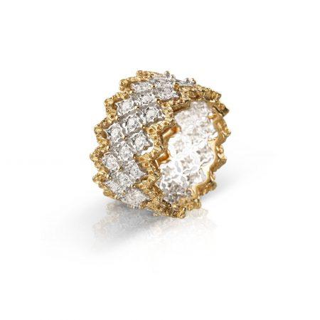 Anello BUCCELLATI Rombi ring sconto discount JAUETE005788