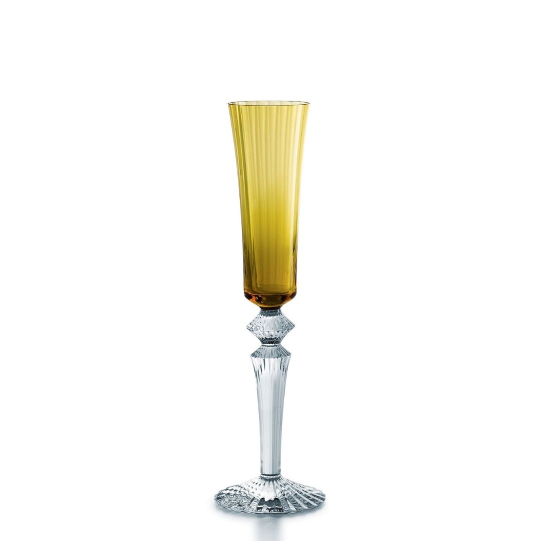 Baccarat Bicchiere fluttissimo Mille Nuits Ambra glass sconto discount