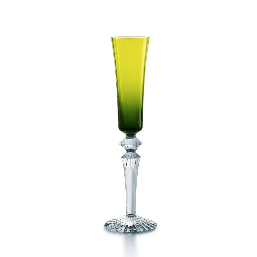 Baccarat Bicchiere fluttissimo Mille Nuits muschio glass sconto discount 2105457