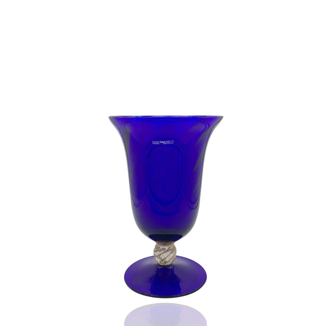 Vaso Dogale NasonMoretti blu vase Bleu sconto discount