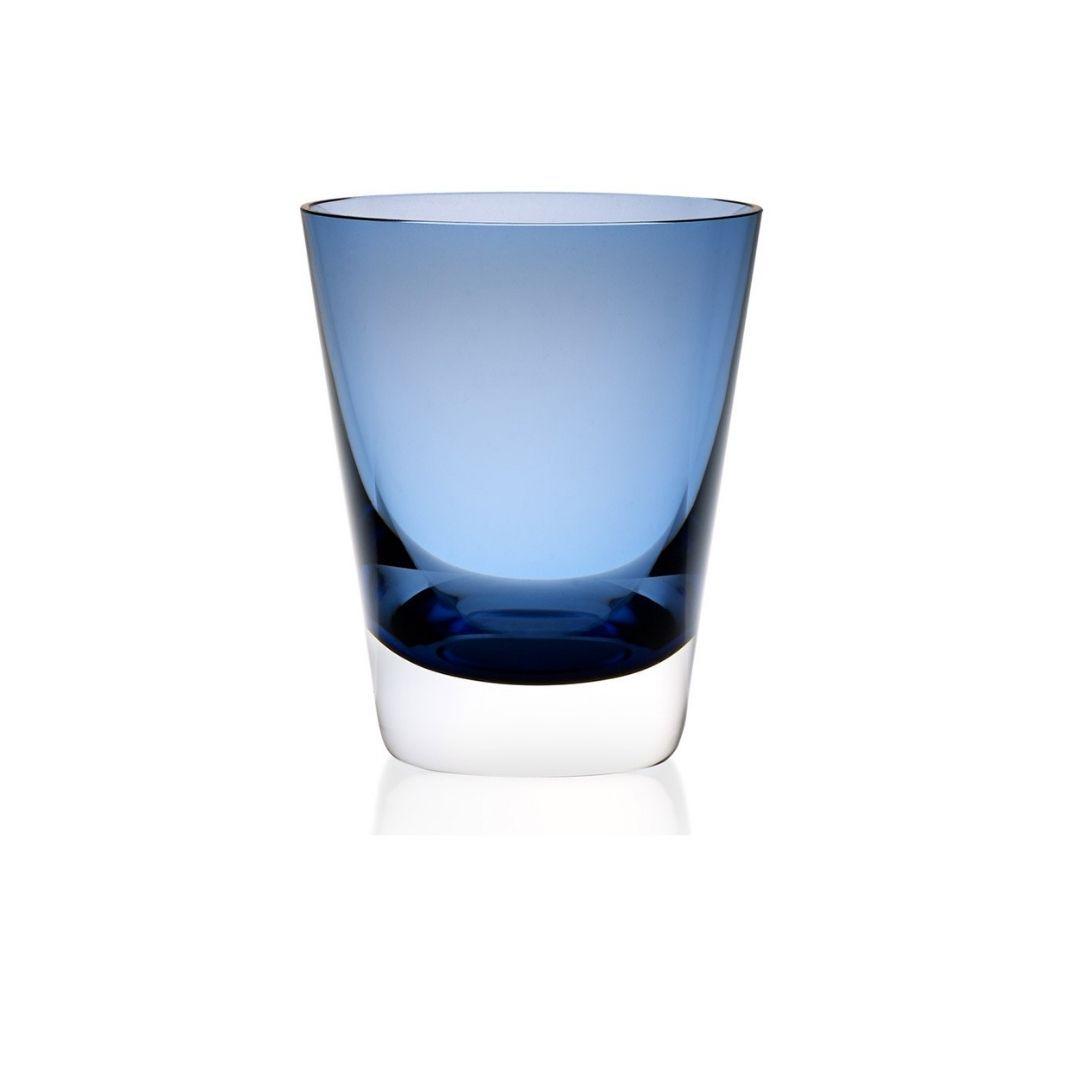 baccarat mosaique tumbler midnight blue blu sconto discount