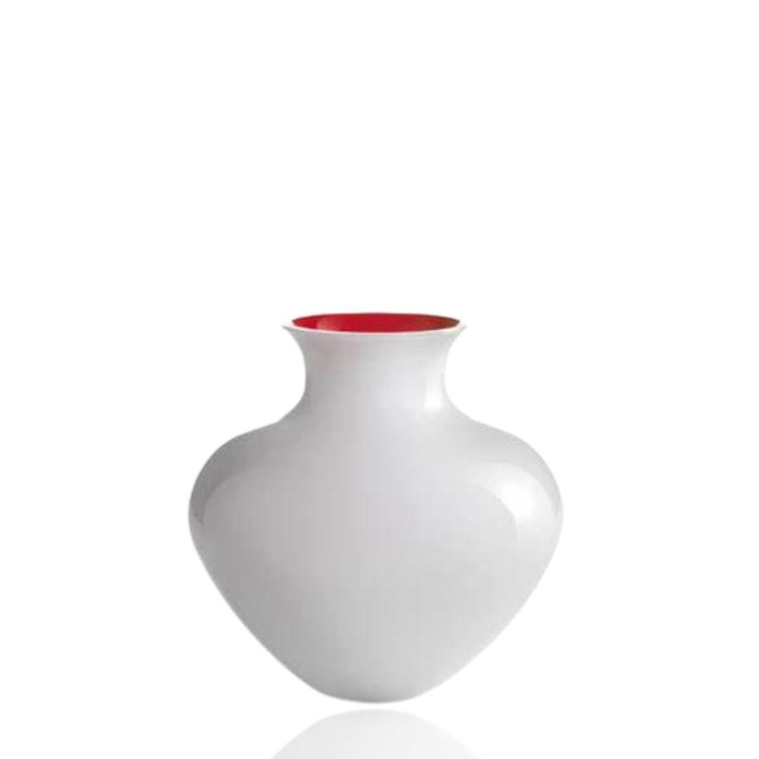 vaso antares 0040 grande bianco vase nasonmoretti white sconto discount